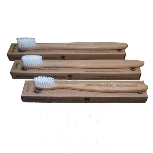 ENVIRONMENTAL TOOTHBRUSHES ON BOXES